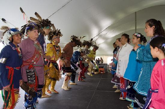 Ganondagan State Historic Site: Ganondagan's Native American Dance & Music Festival, courtesy Kevin Vickers