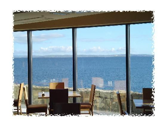 Mullaghmore, Irlandia: Classhybann Restaurant - Sea View