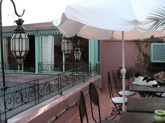 Riad Sadaka : terrazza sui tetti