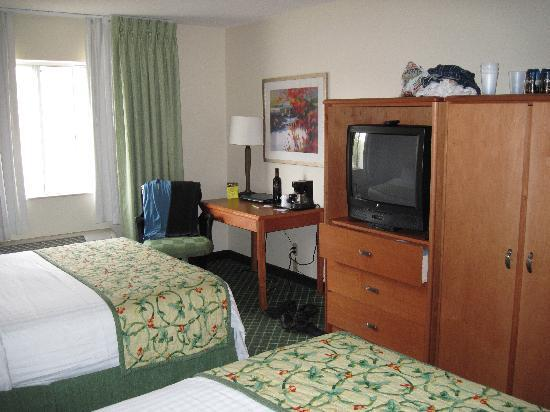 Room 201 Fairfield Inn Duluth