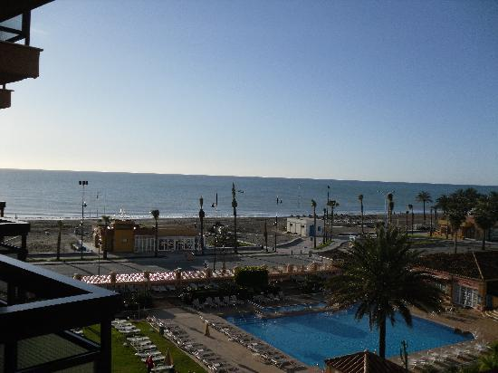 Hotel Riu Belplaya : View from the balcony