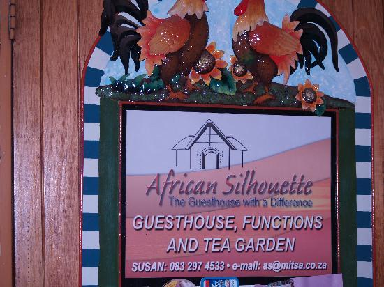 African Silhouette Guesthouse: African Silhoutte Guesthouse and lodge.
