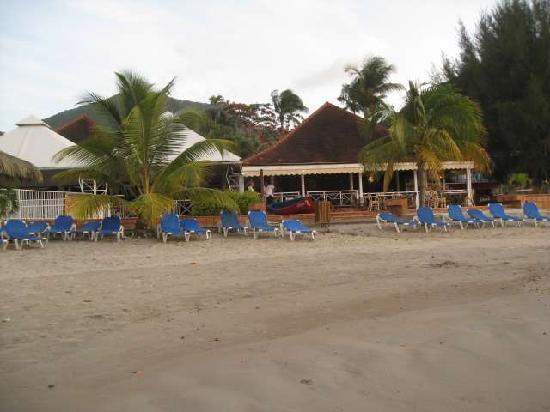 Hotel-Club Trois Ilets: La plage devant l'hôtel
