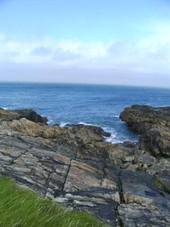 St. Ives, UK: Klippen und Meer