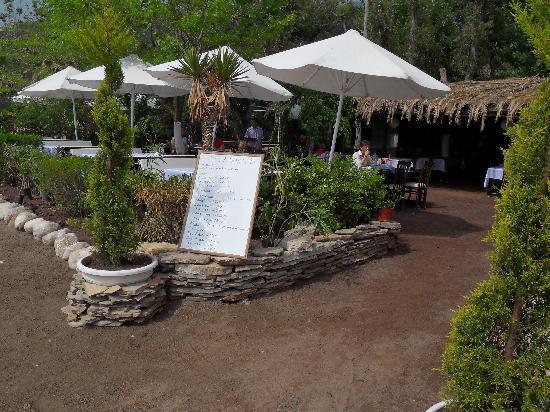 Kutle Hotel : Das Strandrestaurant