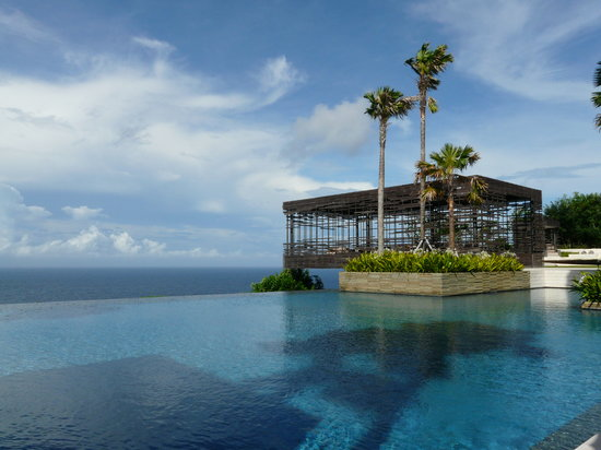 Uluwatu, Indonesia: Breathtaking view during breakfast