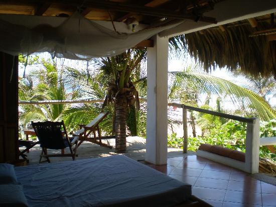 Bambu Ecocabanas: la chambre