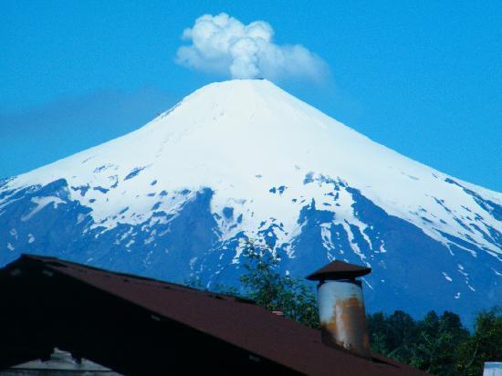 Villarrica, Chile: es esta aun ahumendo