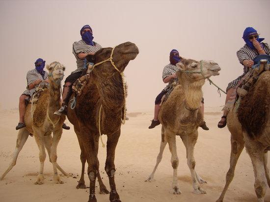 Marhaba Palace Hotel: Desert Sandstorm