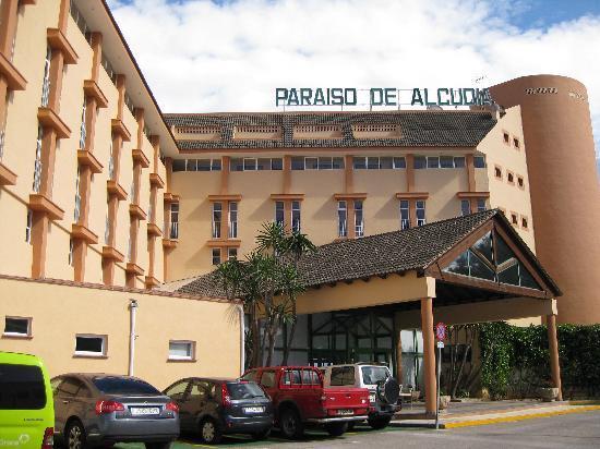 Entrance area Paraiso de Alcudia