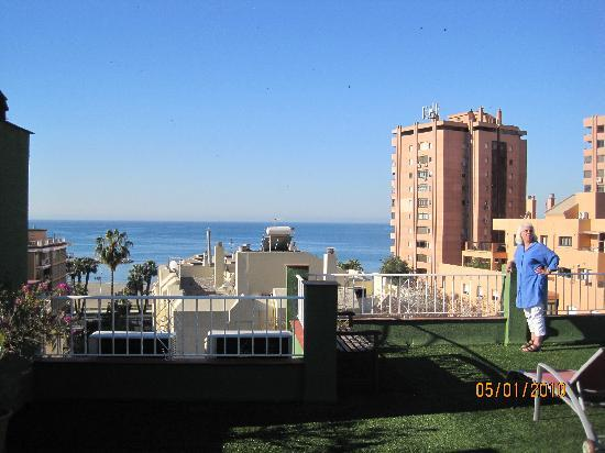 Hotel California: Ocean view from the terrace