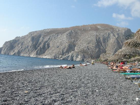 Hotel Hippocampus: Kamari beach