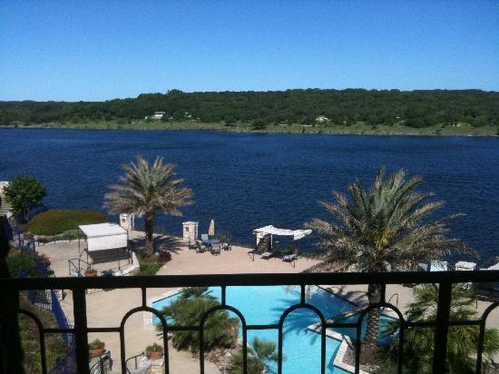 The Island on Lake Travis: view from room 1301