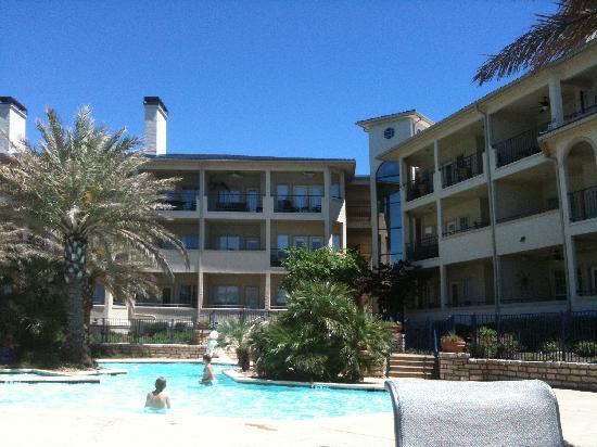 Indoor Swimming Pool From The Spa Picture Of The Island On Lake Travis Lago Vista Tripadvisor