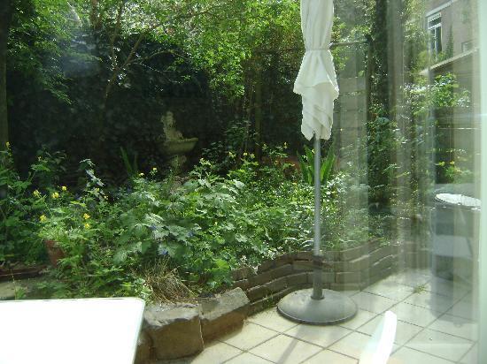 B&B Jordaan: le jardinet
