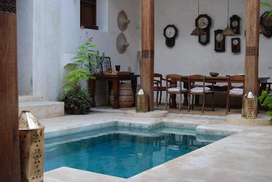 Lamu Island, Kenya: Little 'Private' Plunge Pool