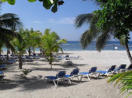 Juan Dolio, Dominicaanse Republiek: view of the beautiful beach