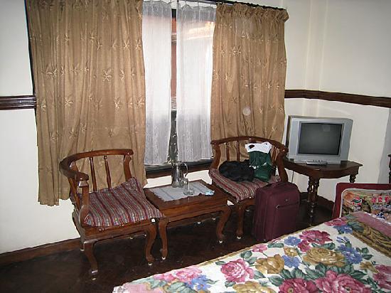 International Guest House: 小さいながらテレビもありました