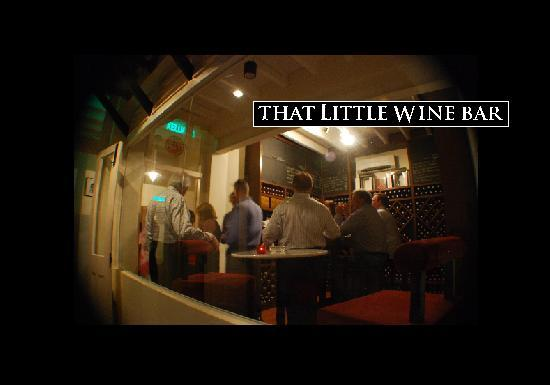 That Little Wine Bar : The Wine Tasting Room