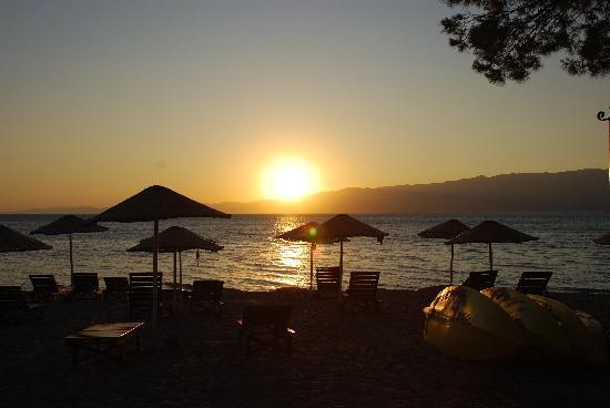 Burhaniye, Turki: Sonnenuntergang