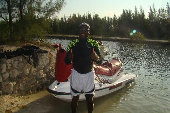 Fat Fish Adventures: Lee, our guide, puts the adventure in Fatfish Adventures!!!