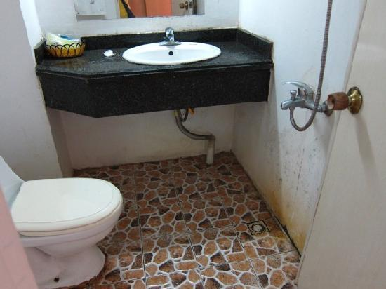 Zhengyang Yizhan: Disgusting bathroom