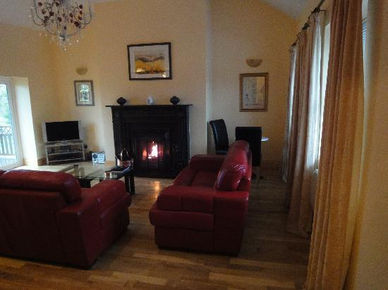 Castleoliver Farm: Lounge Area