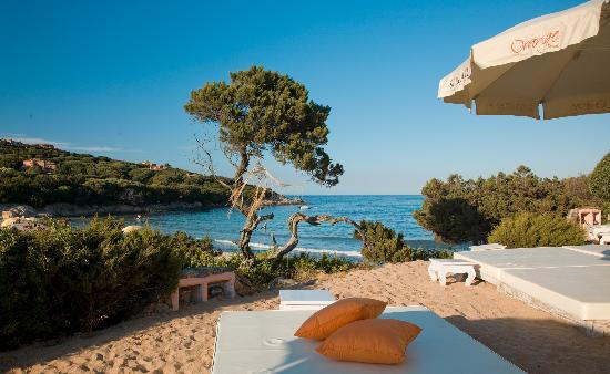 Grand Hotel in Porto Cervo: ORANGE BEACH
