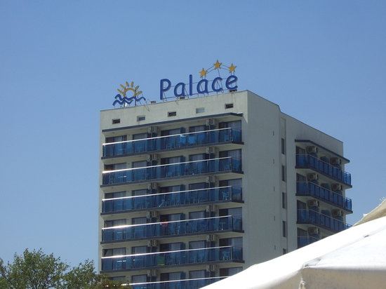 Palace Hotel: The hotel from the beach