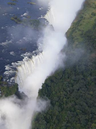 Victoria Falls, Zimbabwe: Vic Falls Helicopter views Apr 2010