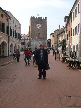 Mestre, Italie : In Piazza Ferretto