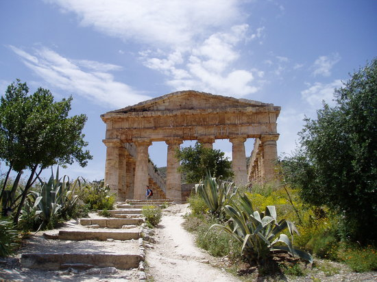 Balestrate, Italie : Temple at Segesta