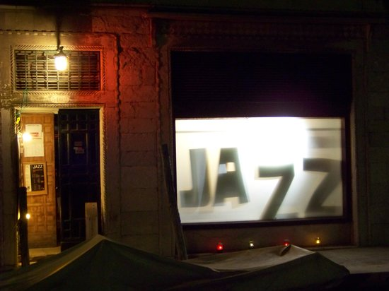 Venice Jazz Club: VJC Entrance -- Nighttime
