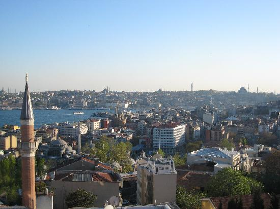 Witt Istanbul Suites: view from our room