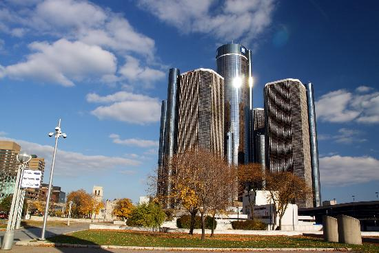 Detroit GM Building