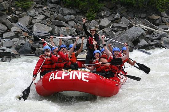 Alpine Rafting: Full or Half day trips starting at $65