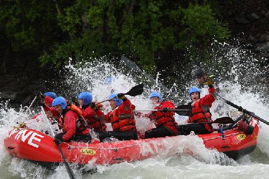 Alpine Rafting: We run from May to September 7 days a week