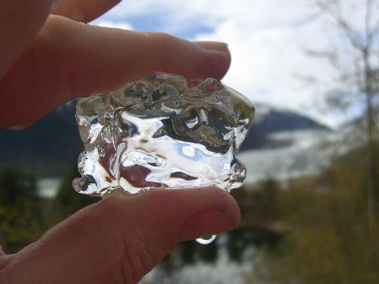 Джуно, Аляска: Clear Glacier Ice