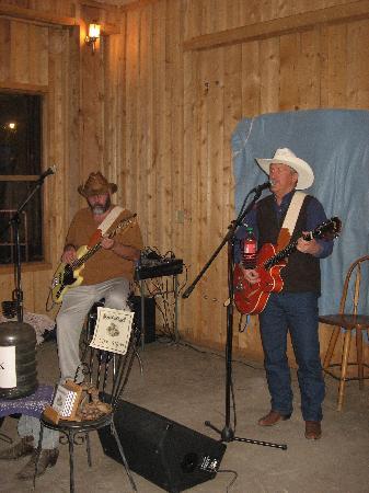 Bryce Pioneer Village: les musiciens