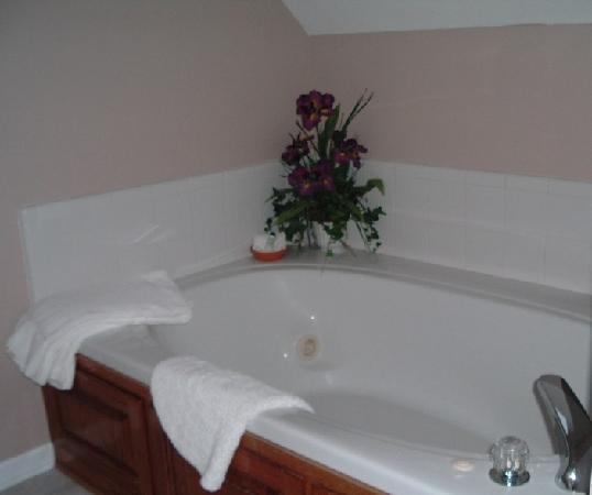 The Garden Inn: Bathtub in the Iris Room