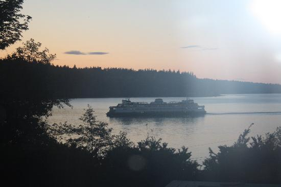 """""""Reflections"""" - A Bed and Breakfast Inn: ferry at twilight"""
