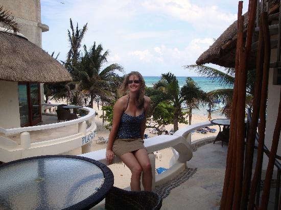 Playa Palms Beach Hotel: Playa Palms From Balcony