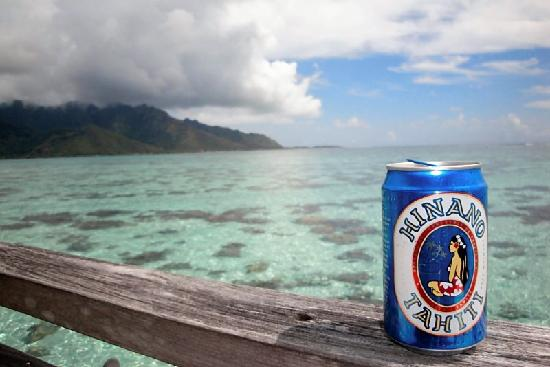 Hilton Moorea Lagoon Resort & Spa: Hinano- tasty local beer