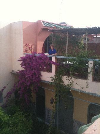 Riad Al Nour: vue sur  terrasse