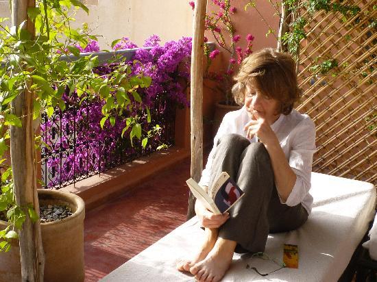 Riad Al Nour: repos e,n terrasse