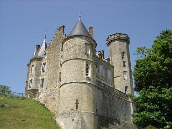 Pays de la Loire, Frankrike: Montmirail castle