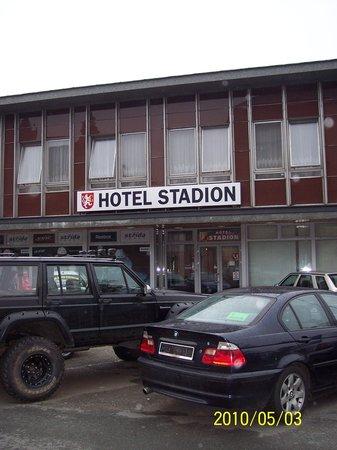 Hotel Stadion entrance