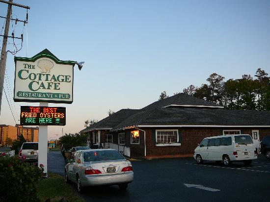 The Cottage Cafe Restaurant Exterior Of