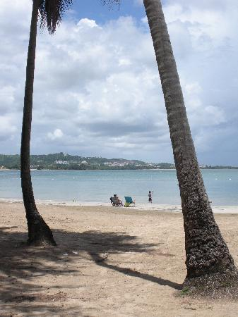Luquillo Beach: There is still a lot of sand here!