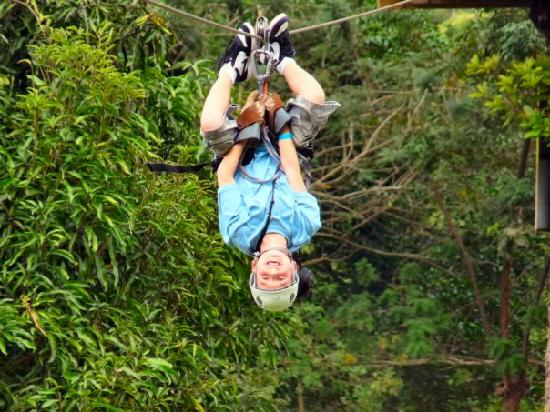 Jaco, Kosta Rika: Canopy Tour